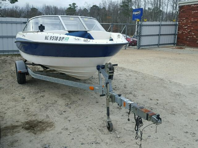 Salvage 2010 Bayliner 185 for sale