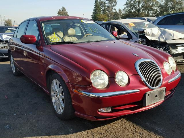 2002 JAGUAR S TYPE 3.0L