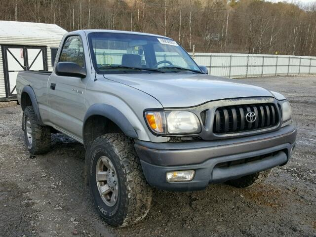 2001 toyota tacoma for sale wv charleston salvage cars copart usa. Black Bedroom Furniture Sets. Home Design Ideas