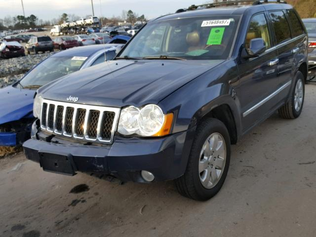 2009 jeep grand cherokee overland photos salvage car auction copart usa. Black Bedroom Furniture Sets. Home Design Ideas