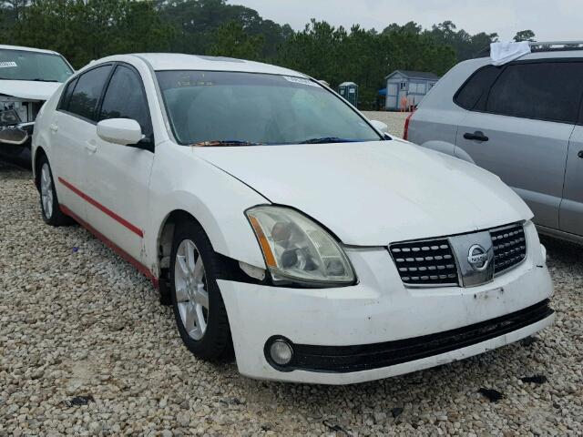 2006 nissan maxima se for sale tx houston salvage. Black Bedroom Furniture Sets. Home Design Ideas