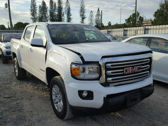 2017 gmc canyon sle for sale fl miami central salvage cars copart usa. Black Bedroom Furniture Sets. Home Design Ideas
