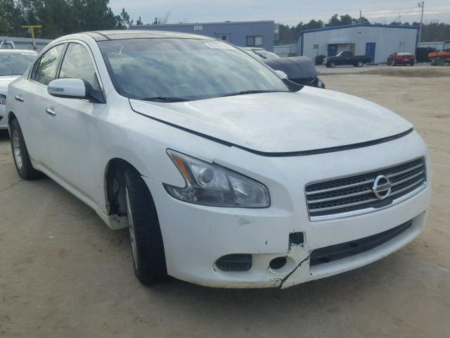 1n4aa51e69c848992 2009 White Nissan Maxima S On Sale In Sc