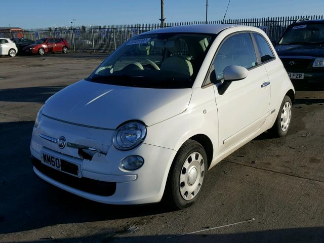 2011 FIAT 500 POP for sale at Copart UK - Salvage Car Auctions
