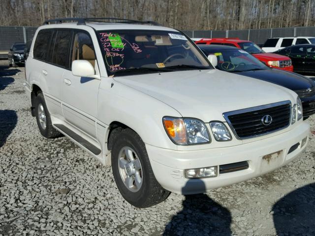 Lexus Dealers Washington Dc >> 1998 LEXUS LX 470 For Sale | DC - WASHINGTON DC - Salvage Cars - Copart USA