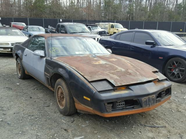 auto auction ended on vin 1g2aw87hxel230006 1984 pontiac firebird t in dc washington dc 1g2aw87hxel230006 1984 pontiac firebird