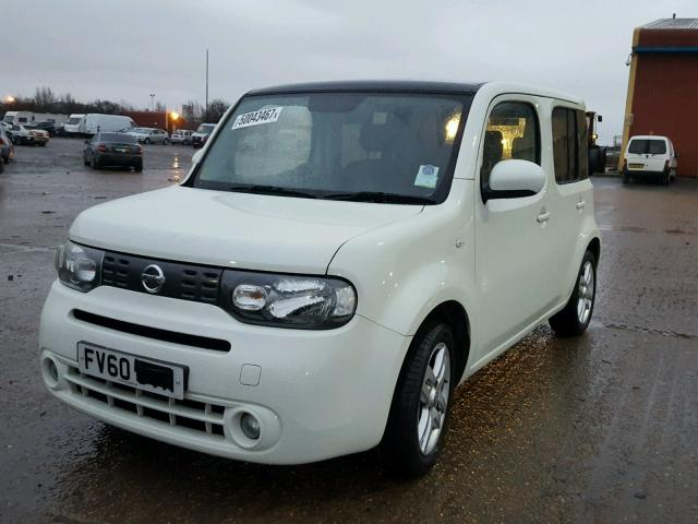 2010 nissan cube 16v for sale at copart uk salvage car auctions. Black Bedroom Furniture Sets. Home Design Ideas