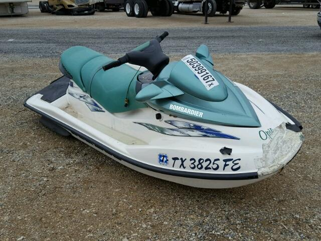 Salvage 2001 Bombardier SEADOO for sale
