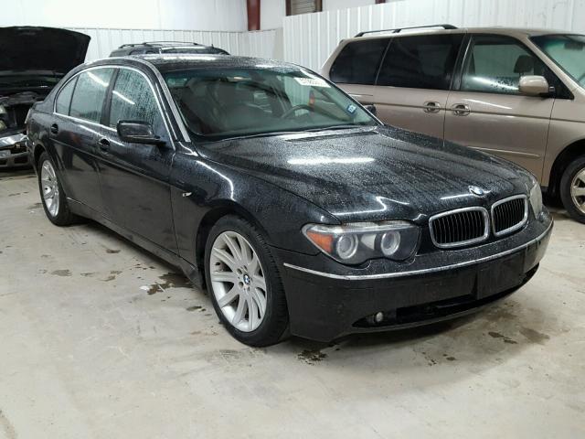 WBAGNXDS BLACK BMW LI On Sale In TX MCALLEN - 745 bmw li