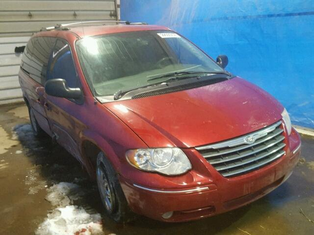 Salvage cars for sale from Copart Columbia Station, OH: 2005 Chrysler Town & Country
