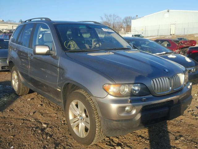Auto Auction Ended on VIN: 5UXFB53504LV05435 2004 BMW X5 4.4I in PA ...