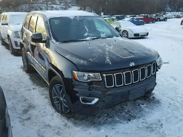 Wrecked jeep grand cherokee