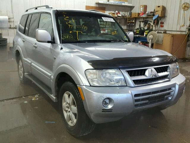 2006 mitsubishi montero limited for sale mn st cloud salvage cars copart usa. Black Bedroom Furniture Sets. Home Design Ideas
