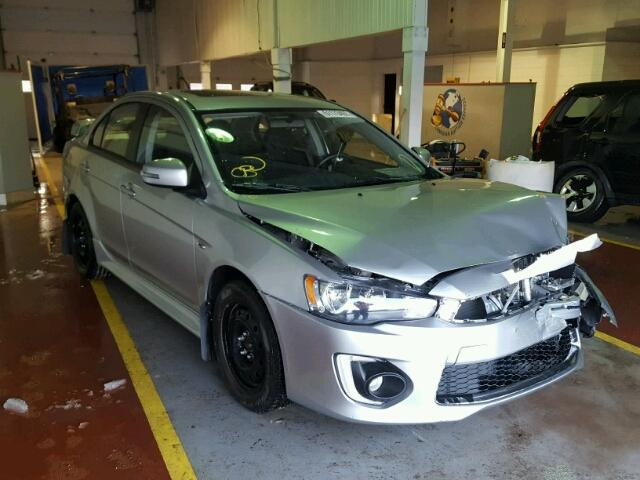 Moncton Car Auction >> 2017 Mitsubishi Lancer Es Photos Nb Moncton Salvage