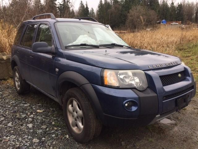 Auto Auction Ended on VIN: SALNY222X5A467395 2005 LAND ROVER ...