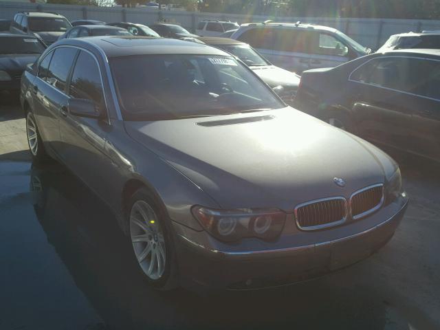 2005 BMW 745 LI 44L