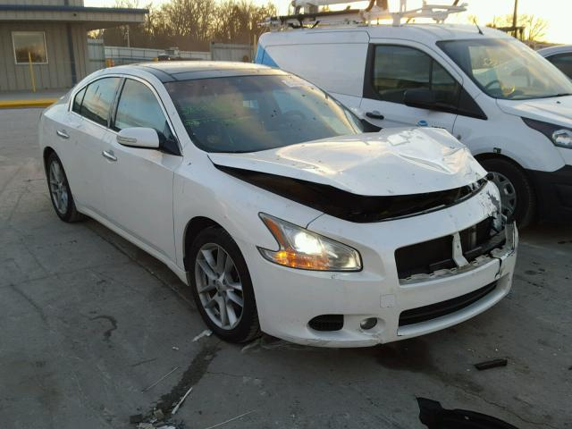 1n4aa5ap7bc816978 2011 White Nissan Maxima S On Sale In Tn
