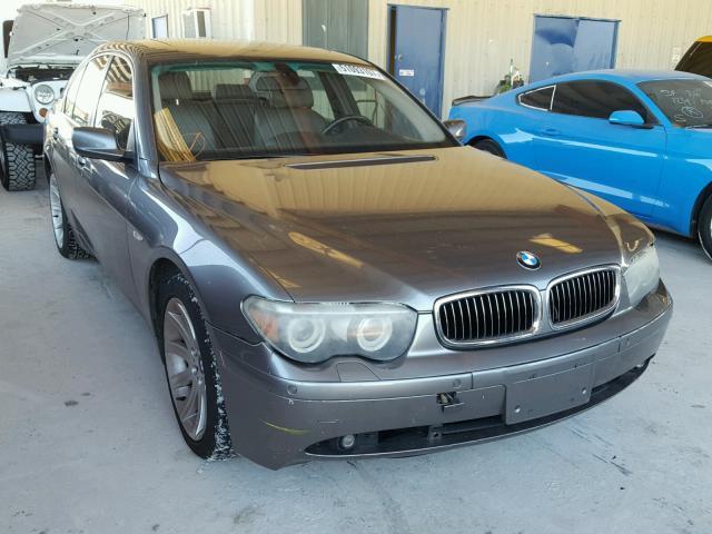 2005 BMW 745 I 44L