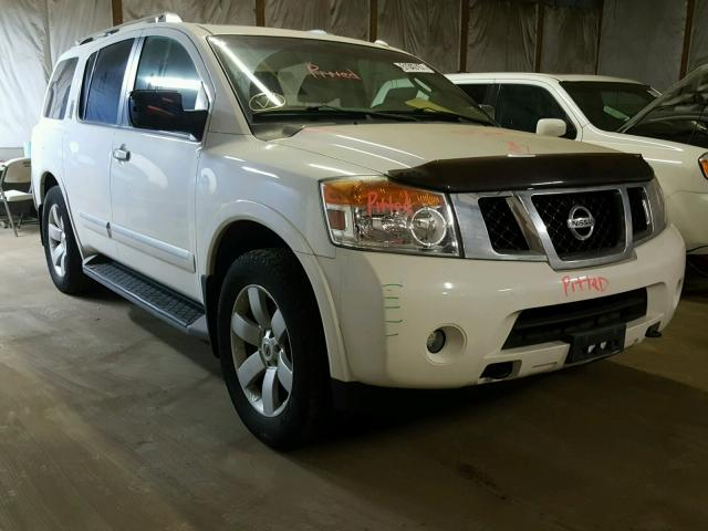 Auto Auction Ended On Vin 5n1ba0nc3an602366 2010 Nissan Armada Se