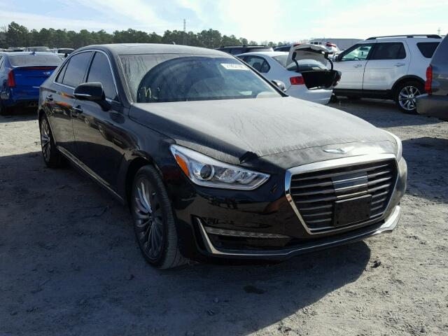 auto auction ended on vin kmhg54jhxhu033261 2017 genesis g90 ultima in tx houston. Black Bedroom Furniture Sets. Home Design Ideas