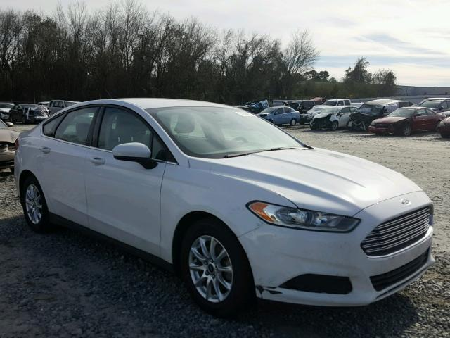2015 FORD FUSION S 2.5L