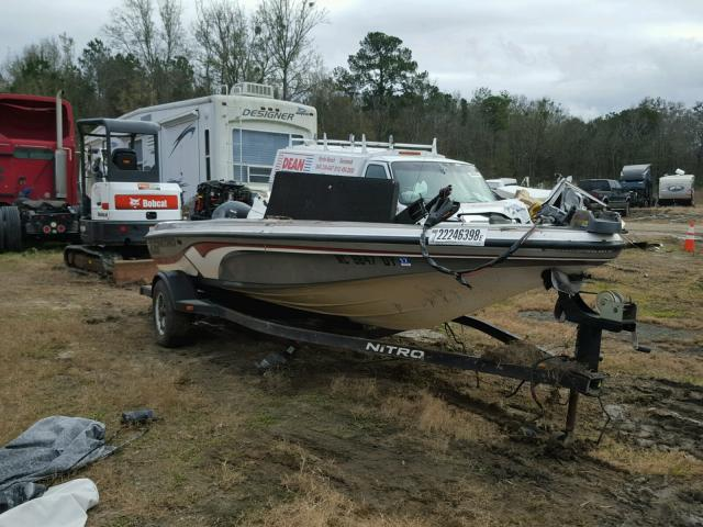 Salvage 2008 Tracker MARINE TRAILER for sale