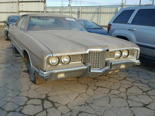 Auto Auction Ended On Vin 1p54h187089 1971 Ford Galaxie In Ut