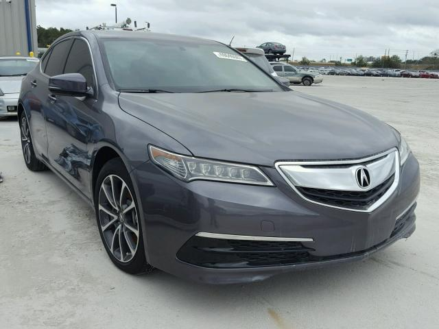 salvage 2017 acura tlx for sale in fl apopka lot 49640067. Black Bedroom Furniture Sets. Home Design Ideas