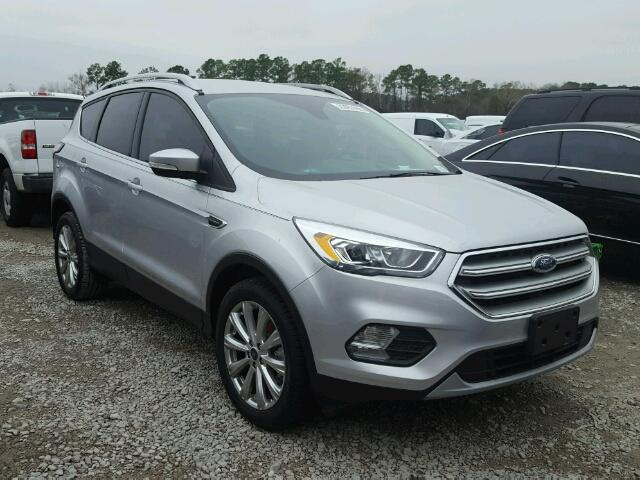 Auto Auction Ended On Vin 1fmcu0j98hud84527 2017 Ford Escape In Tx Houston