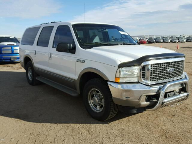 2002 ford excursion limited for sale tx amarillo salvage cars copart usa. Black Bedroom Furniture Sets. Home Design Ideas