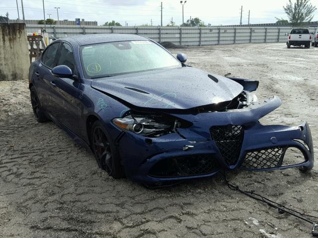 2017 Alfa Romeo Giulia Quadrifoglio Photos Salvage Car Auction