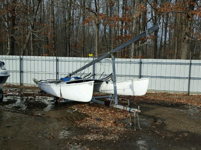 Salvage 1992 Hobbs Trailer HOBBIE for sale