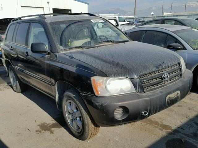Auto Auction Ended On VIN JTEHFA TOYOTA - 2001 highlander