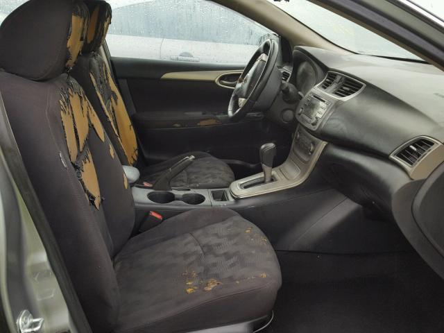 2013 Nissan Sentra S Burn Interior Damage 3n1ab7ap9dl713428 Sold