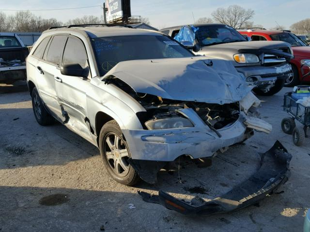 Salvage cars for sale from Copart Wichita, KS: 2004 Chrysler Pacifica