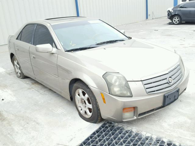 Auto Auction Ended on VIN: 1G6DM57N430104969 2003 CADILLAC CTS in FL