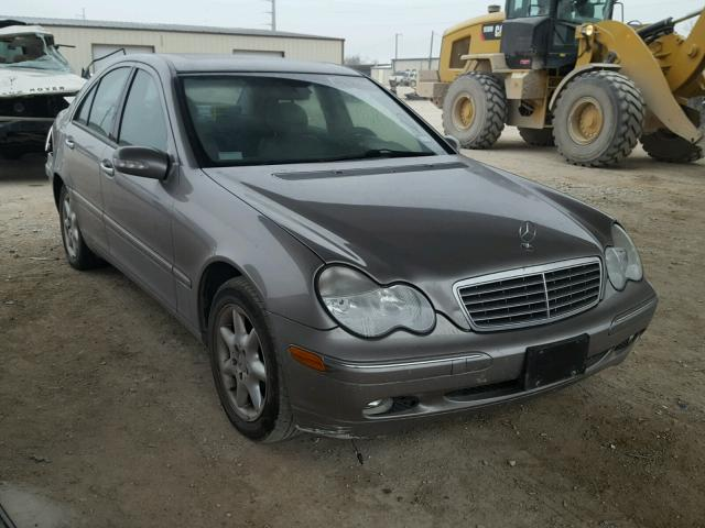 WDBRF61J13F414257   2003 MERCEDES BENZ C 240 2.6L Left View