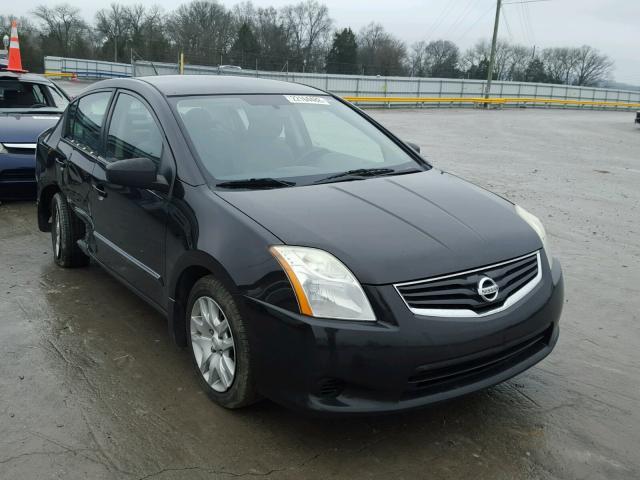3n1ab6ap8al627453 2010 Black Nissan Sentra 20 On Sale In Tn