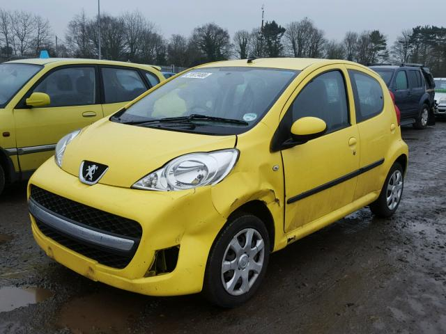 2010 PEUGEOT 107 URBAN for sale at Copart UK - Salvage Car Auctions
