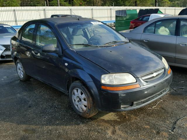 Auto Auction Ended On Vin Kl1tg52645b295307 2005 Chevrolet Aveo Lt