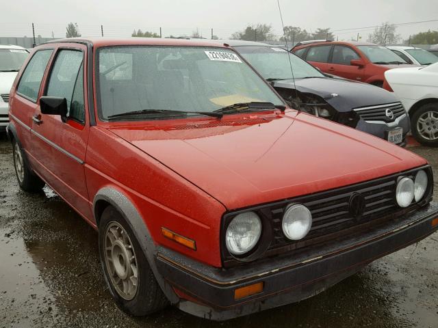 1986 VOLKSWAGEN GTI 1.8L