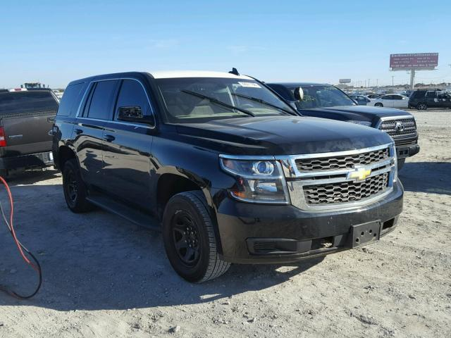 2016 chevrolet tahoe police for sale tx ft worth salvage cars copart usa. Black Bedroom Furniture Sets. Home Design Ideas