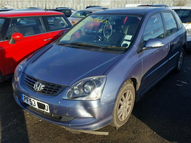 2004 honda civic vtec for sale at copart uk salvage car. Black Bedroom Furniture Sets. Home Design Ideas