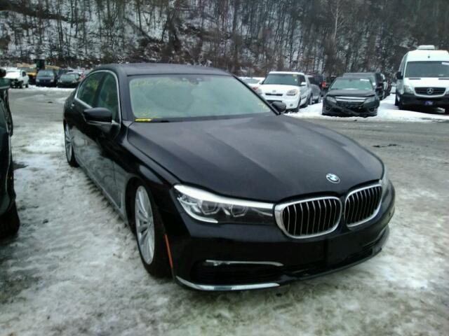 Auto Auction Ended On VIN WBAECGG BMW I In NY - 740 i bmw