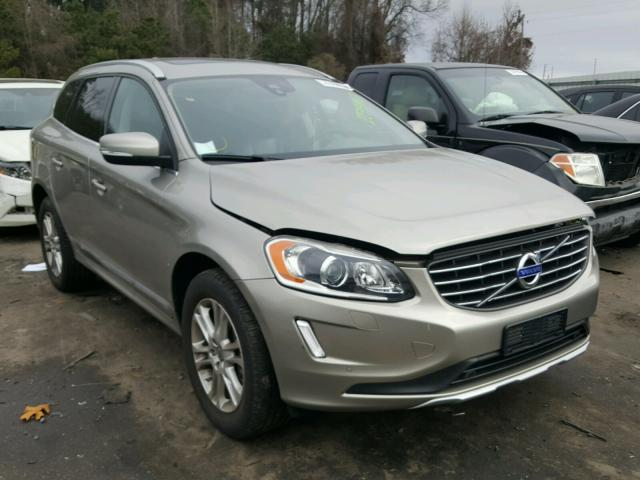 2014 volvo xc60 3 2 for sale nc raleigh tue mar 13 2018 salvage cars copart usa. Black Bedroom Furniture Sets. Home Design Ideas