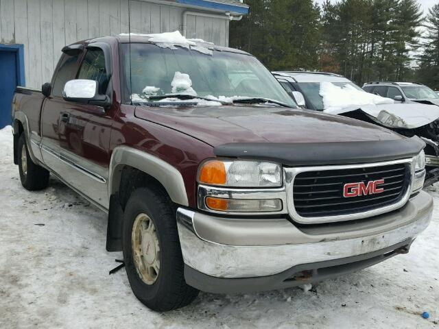 2001 GMC NEW SIERRA 4.8L