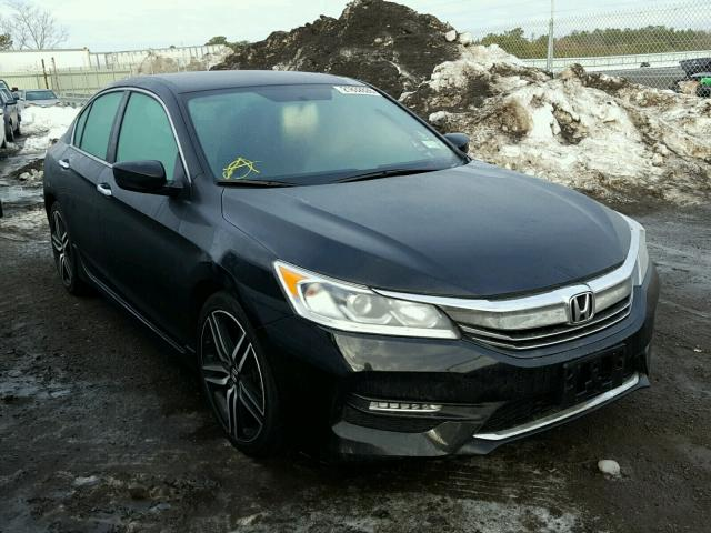 2016 honda accord sport for sale ny long island salvage cars copart usa. Black Bedroom Furniture Sets. Home Design Ideas