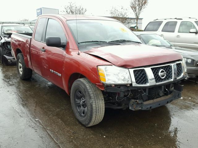 Salvage 2007 NISSAN TITAN XE - Small image. Lot 22034588