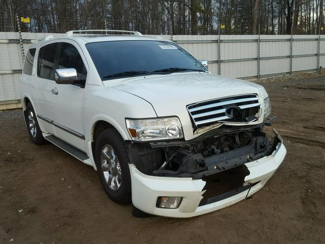 5n3aa08a46n813225 2006 White Infiniti Qx56 On Sale In Sc Greer