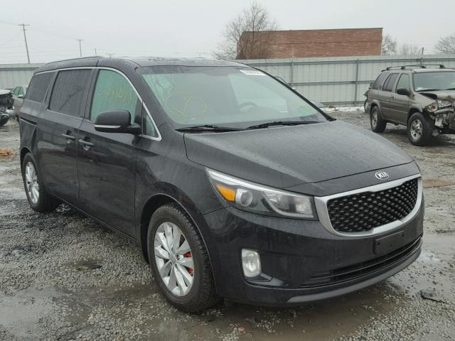 2015 kia sedona ex for sale il chicago south salvage. Black Bedroom Furniture Sets. Home Design Ideas